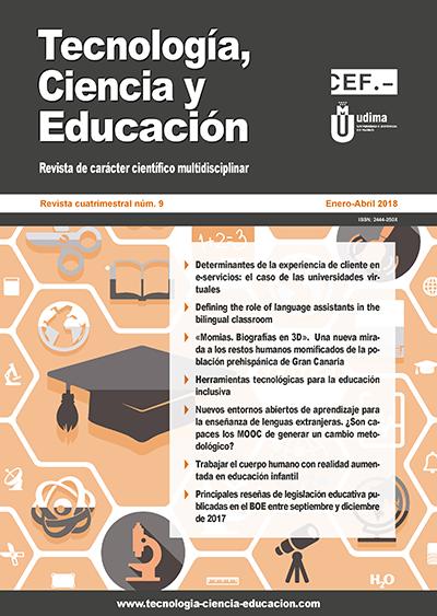 Revista Tecnología, Ciencia y Educación Nº 9
