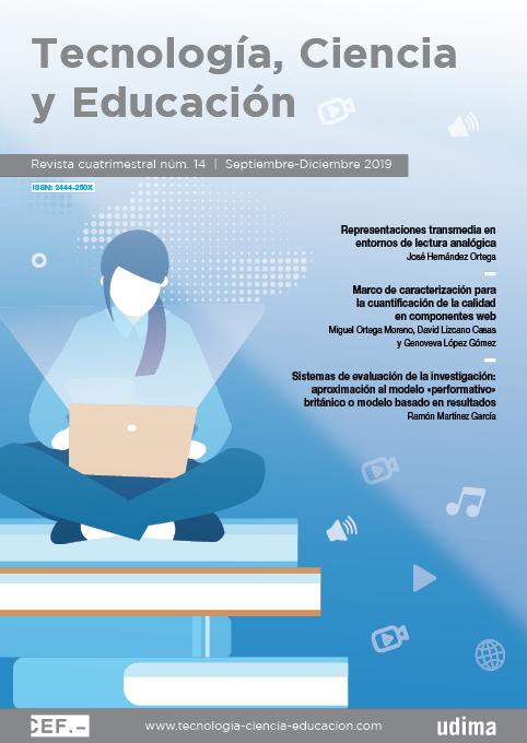 Revista Tecnología, Ciencia y Educación N.º 14 Septiembre-Diciembre 2019