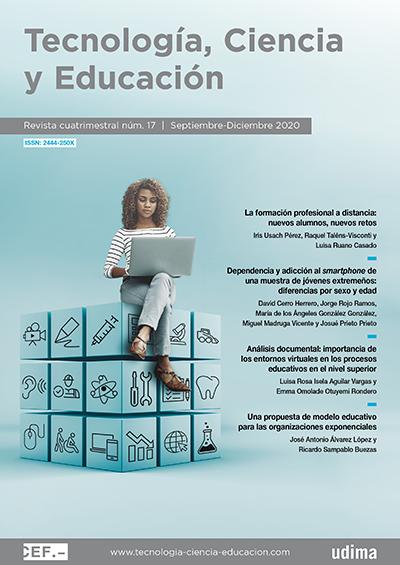 Ver Revista Tecnología, Ciencia y Educación N.º 17 Septiembre-Diciembre 2020